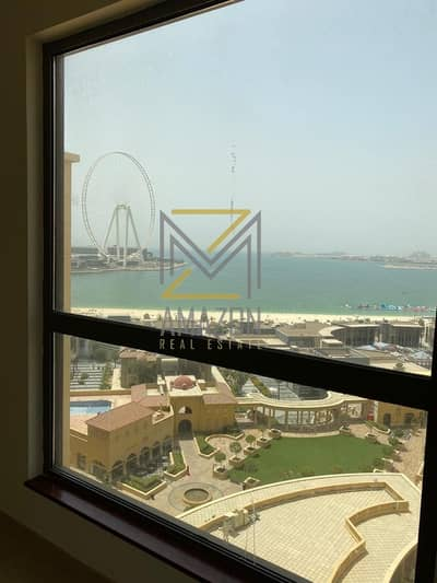 Stunning Sea View / 3 Bedroom + Maid / Multiple Cheques Option - AMWAJ 3