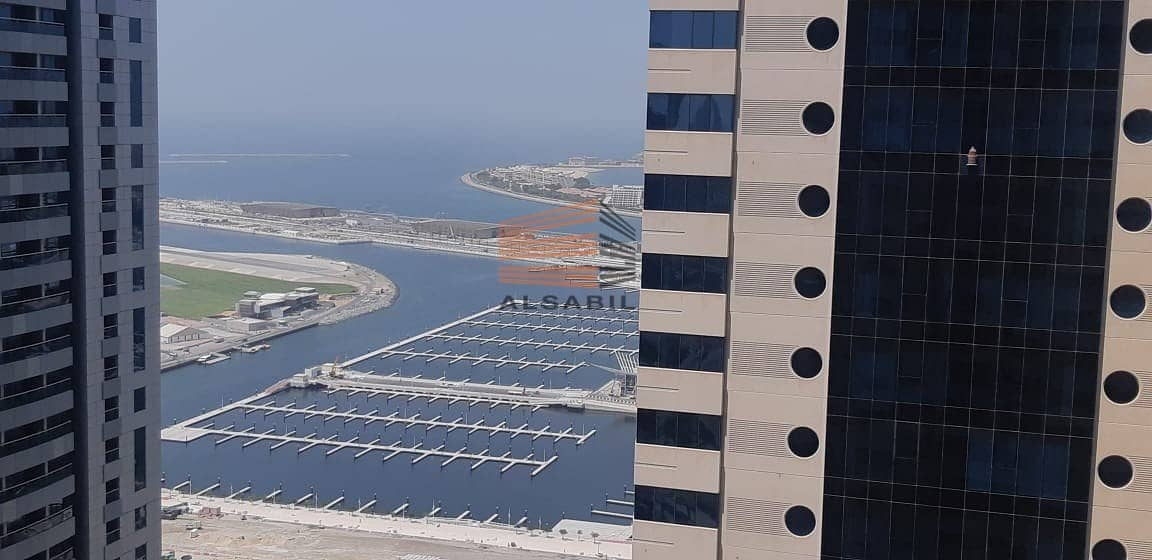 one bedroom sea view for rent marina