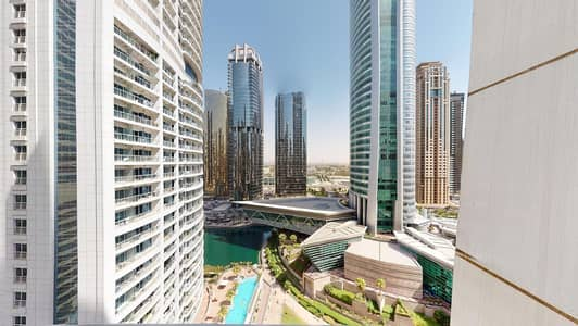 1 Bedroom Flat for Rent in Jumeirah Lake Towers (JLT), Dubai - Lake views | 1