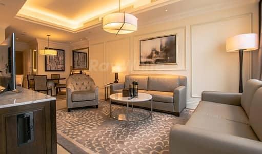 شقة 1 غرفة نوم للايجار في وسط مدينة دبي، دبي - All Inclusive I Luxury Serviced I Spectacular Views