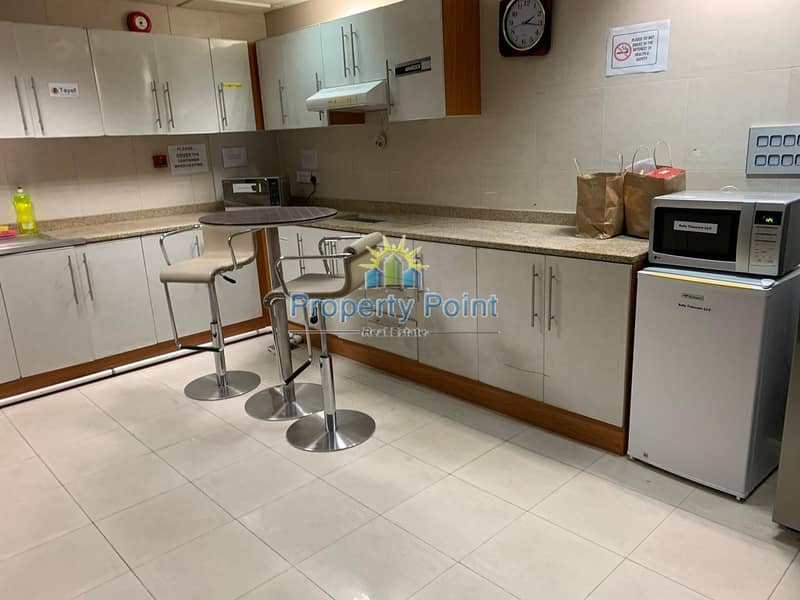10 No Commission | 150 SQFT Office Space in a Business Center | Hamdan Sreet