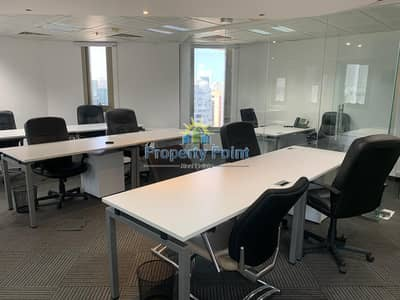 Office for Rent in Hamdan Street, Abu Dhabi - No Commission   80 SQM Office Space   Worry-Free Business Center Office Set-Up   Hamdan Street