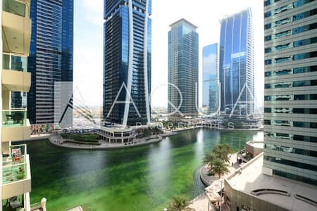 2 Bedroom Apartment for Rent in Jumeirah Lake Towers (JLT), Dubai - Upgraded Room | Big Balcony | Stunning View