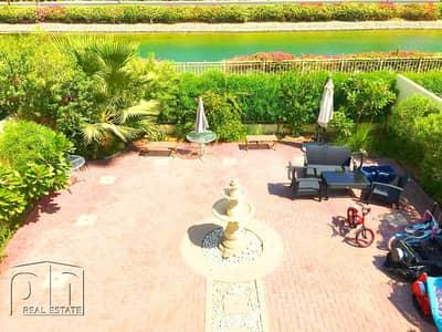 فیلا 3 غرف نوم للايجار في الينابيع، دبي - 3E | Upgraded | Lake View | September