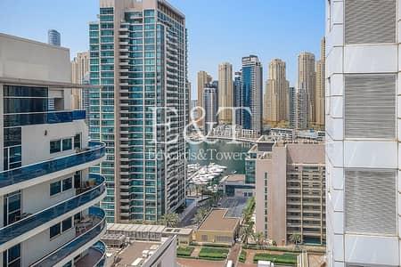 شقة 2 غرفة نوم للايجار في دبي مارينا، دبي - Upgraded | Ensuite 2BR |Marina View|Close To Metro