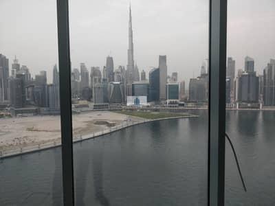 مکتب  للايجار في الخليج التجاري، دبي - 4 PARKINGS | Best Unit of the Building | Partitioned only | MASSIVE Panoramic Views Burj + Canal