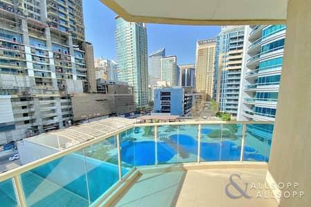 2 Bedroom Apartment for Rent in Dubai Marina, Dubai - Middle Floor | 2 Bedrooms | Parking Space