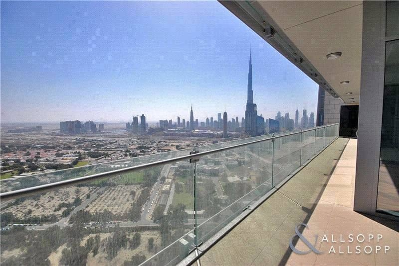 Burj Khalifa Views | 3 Bedrooms | Balcony