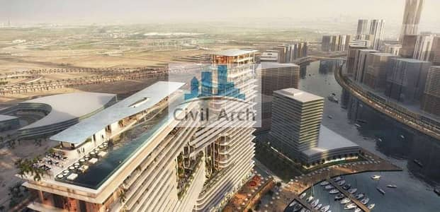 5 Bedroom Penthouse for Sale in Business Bay, Dubai - MOST MAGNIFYING PENTHOUSE EVER+PVT POOL+360 VIEWS SIMPLY STUNNING