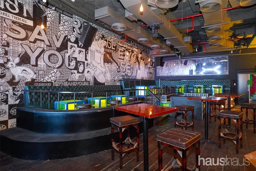 Fully Fitted Bar Club Lobby Level No Key Money