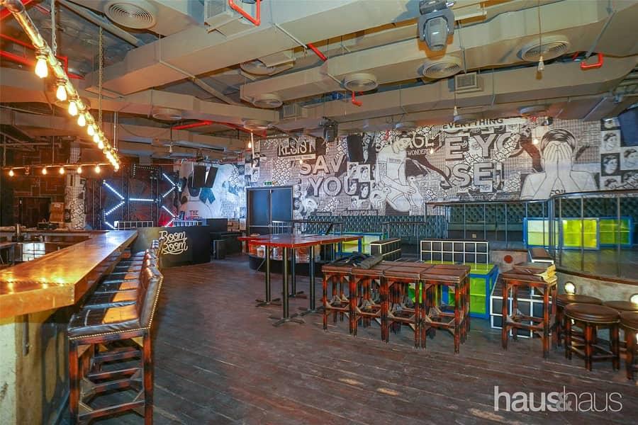 2 Fully Fitted Bar Club Lobby Level No Key Money