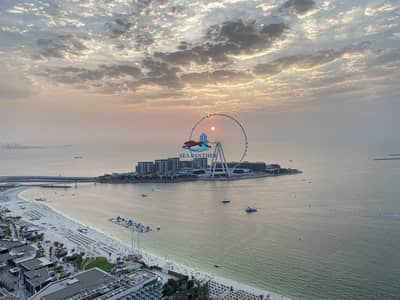 3 Bedroom Apartment for Rent in Jumeirah Beach Residence (JBR), Dubai - Full SEA VIEW   AC & Gas INCLUDED | 1 Month Free