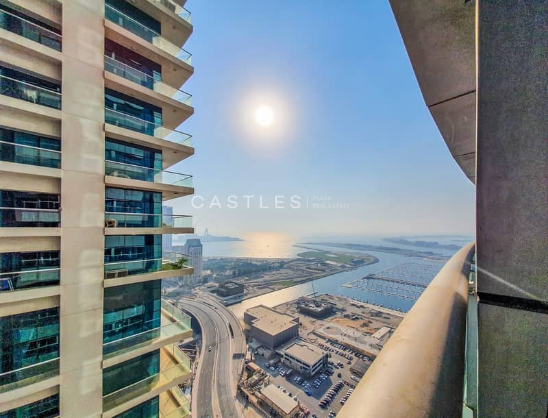 11 PARTIAL SEA-VIEW HIGH FLOOR | 1 BR | Unfurnished
