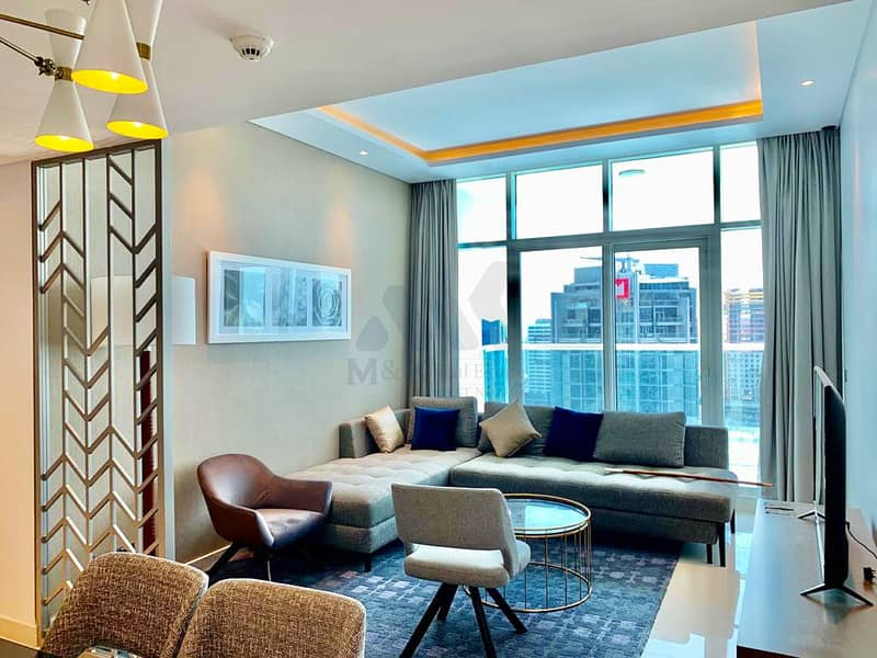 Lavish 2 Bedroom | Canal View | Fully Furnished