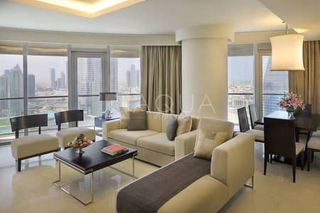 3 Bedroom Hotel Apartment for Sale in Dubai Marina, Dubai - Vacant | Fully Furnished | Burj Khalifa View