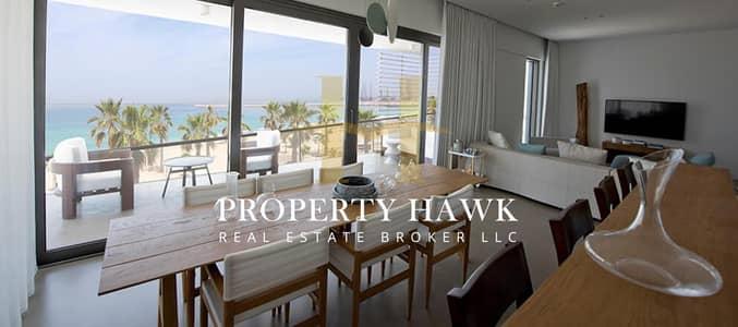 شقة 4 غرف نوم للبيع في لؤلؤة جميرا، دبي - Beachfront Living | Luxury 4 BR in Nikki Beach