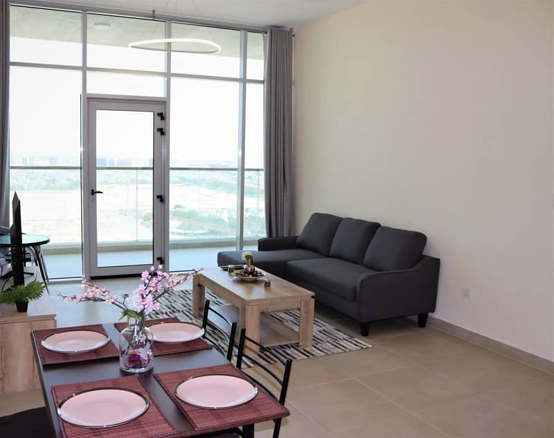 2 Spacious Fully Furnished 1 BR Apartment.