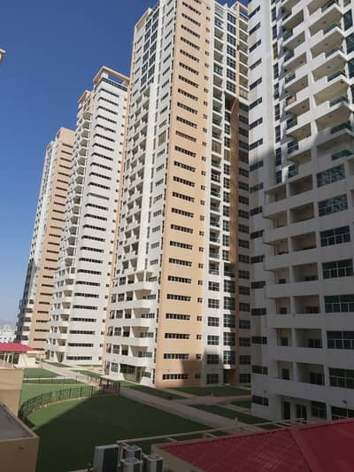 FOR RENT:FULLY OPEN VIEW STUDIO RENTED AED 18000  IN AJMAN ONE TOWERS AED 195000 WITH PARKING ACCESS TO EMIRATES ROAD