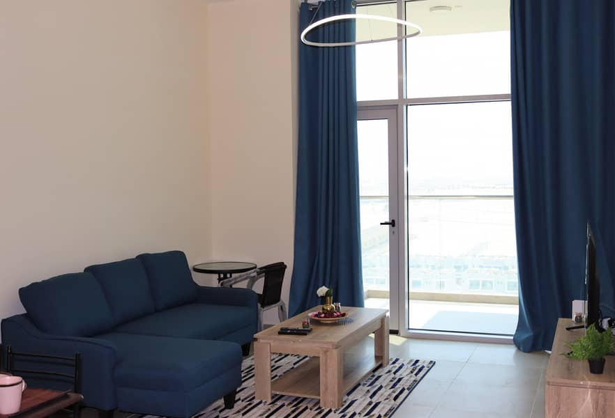 2 Brand New  Fully Furnished 1 BR Apartment.