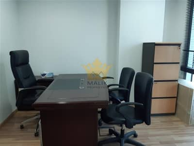 Office for Rent in Barsha Heights (Tecom), Dubai - Fitted Furnished Office For Rent Chiller Free