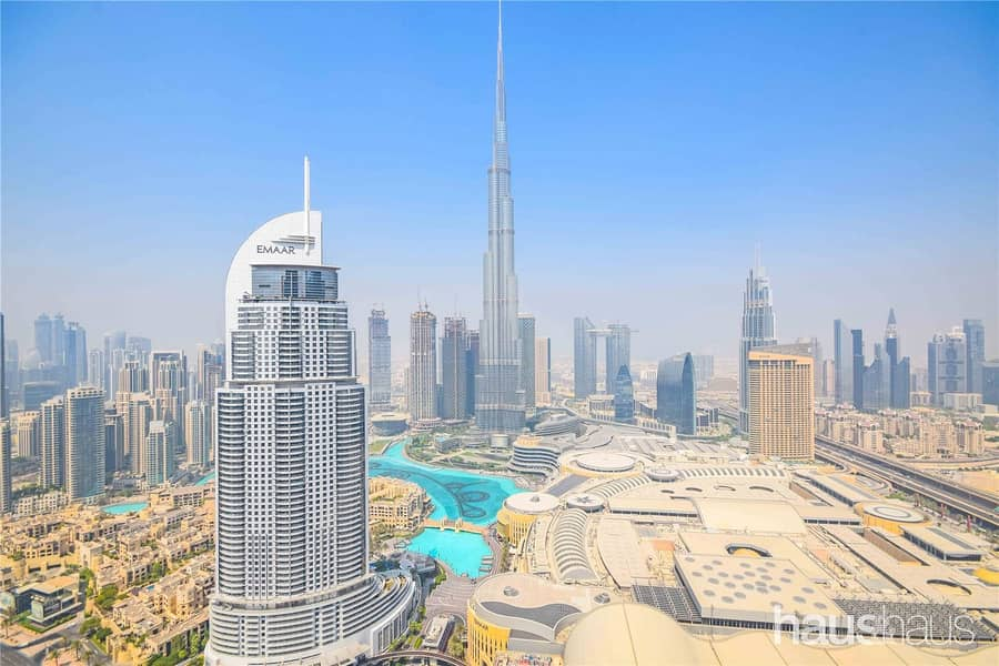 1 High Floor | Stunning Burj and Fountain Views | 5*