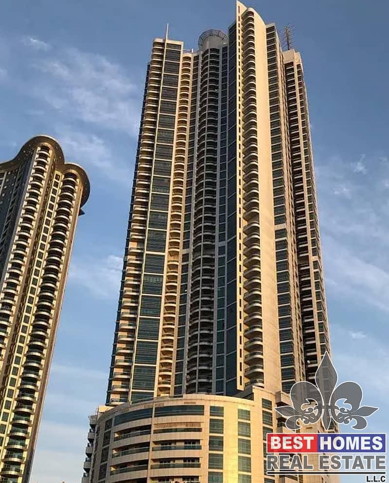 Beautiful 1 bhk for rent in Corniche tower, Ajman