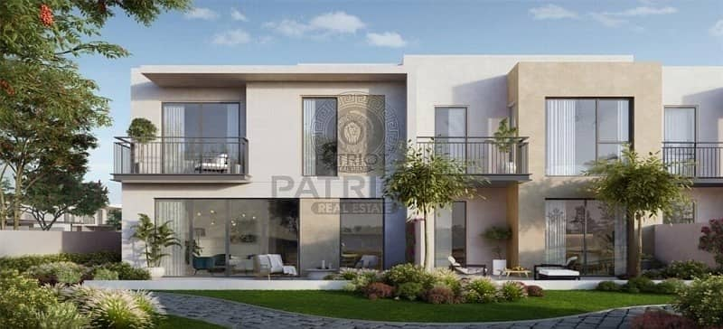 Affordable 3 bedroom's townhouse  | best location By Emaar|