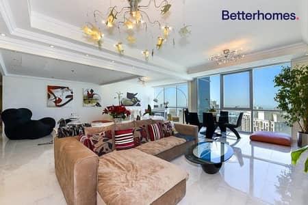 شقة 2 غرفة نوم للبيع في جميرا بيتش ريزيدنس، دبي - Full Sea View|Top Floor|Fully Furnished|Maids Room