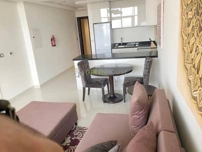 شقة فندقية 1 غرفة نوم للبيع في قرية جميرا الدائرية، دبي - Rented Unit | Fully Furnished 1 B/R Hotel Apt with Balcony | Park View | Ghalia