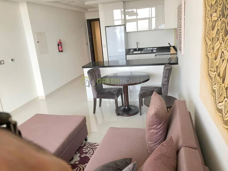 Rented Unit | Fully Furnished 1 B/R Hotel Apt with Balcony | Park View | Ghalia