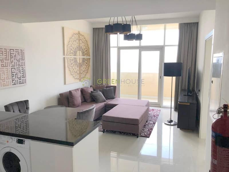 2 Rented Unit | Fully Furnished 1 B/R Hotel Apt with Balcony | Park View | Ghalia