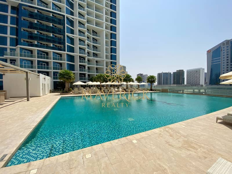 18 Brand New Furnished 1BR | Full Canal View