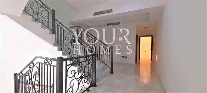 4 Bedroom Townhouse for Rent in Jumeirah Village Circle (JVC), Dubai - Mk | Park Facing Luxury Villa with Pool