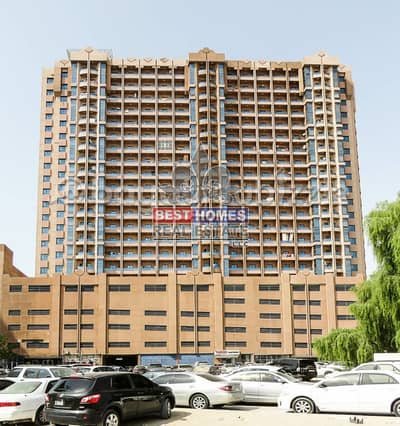 Studio for Rent in Al Nuaimiya, Ajman - Big Size Studio for rent in Al Nuamiya tower -C