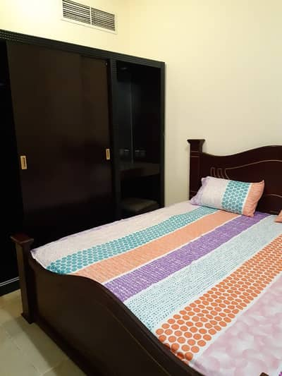 1 Bedroom Flat for Rent in Al Qasimia, Sharjah - monthly one bed room hall on monthly basis only in 2500