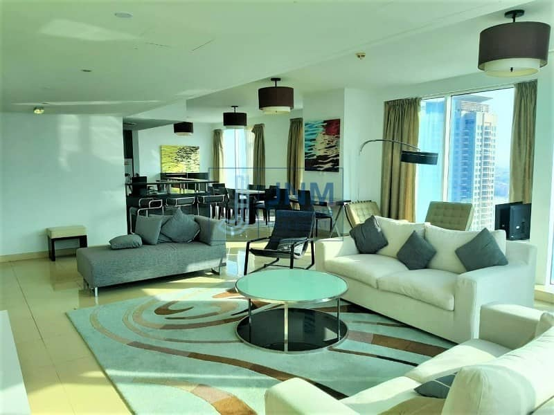 Fully Furnished | Luxurious 3 Beds | High Floor