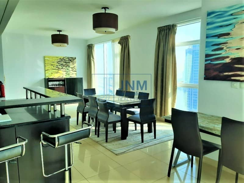 2 Fully Furnished | Luxurious 3 Beds | High Floor