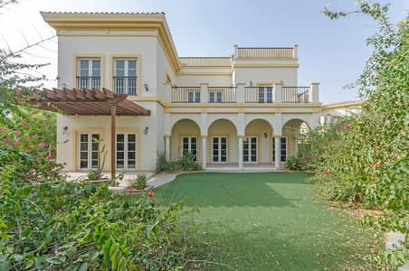 4 Bedroom Villa for Rent in The Villa, Dubai - Vacant   Top Located Cordoba   Park Front and Back