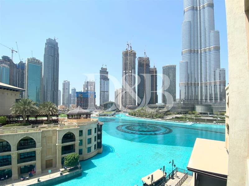 2 Well Maintained l Fountain & Burj View l Bright