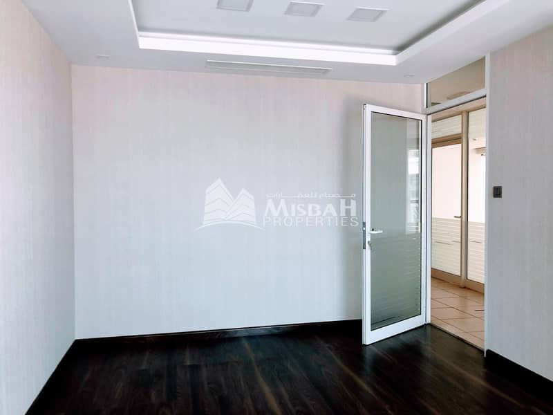 2  1732 sq.ft Fitted Office in Garhoud