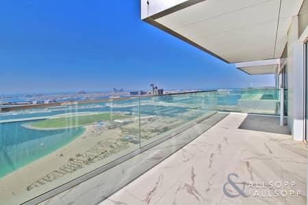 شقة 2 غرفة نوم للايجار في جميرا بيتش ريزيدنس، دبي - Full Sea Views | High Floor | Vacant Now