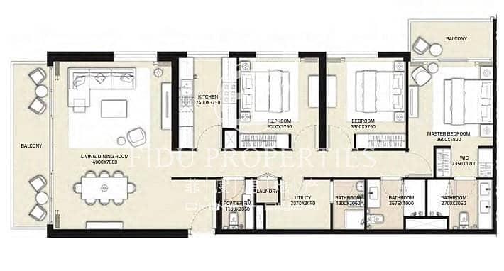 11 3 Bedrooms | October Handover | Park Heights