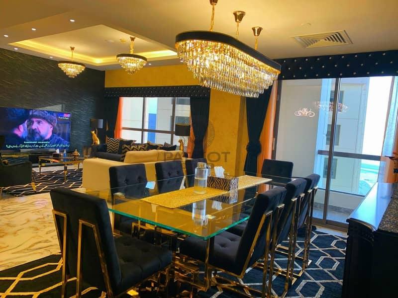 2 Italian Style Modify   3 Beedroom+Maidroom   Luxury Fully Furnish   Full Sea View JBR