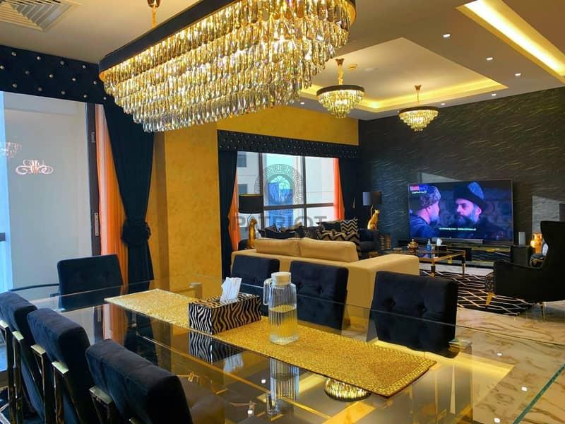 Italian Style Modify | 3 Beedroom+Maidroom | Luxury Fully Furnish | Full Sea View JBR