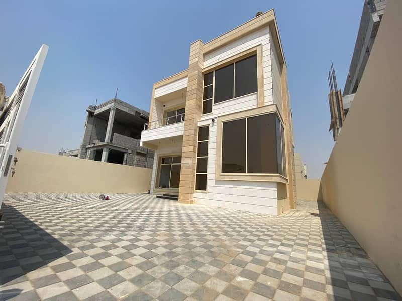 brand new villa for sale in ajman al helio 2 3 bedroom majlis hall kitchen