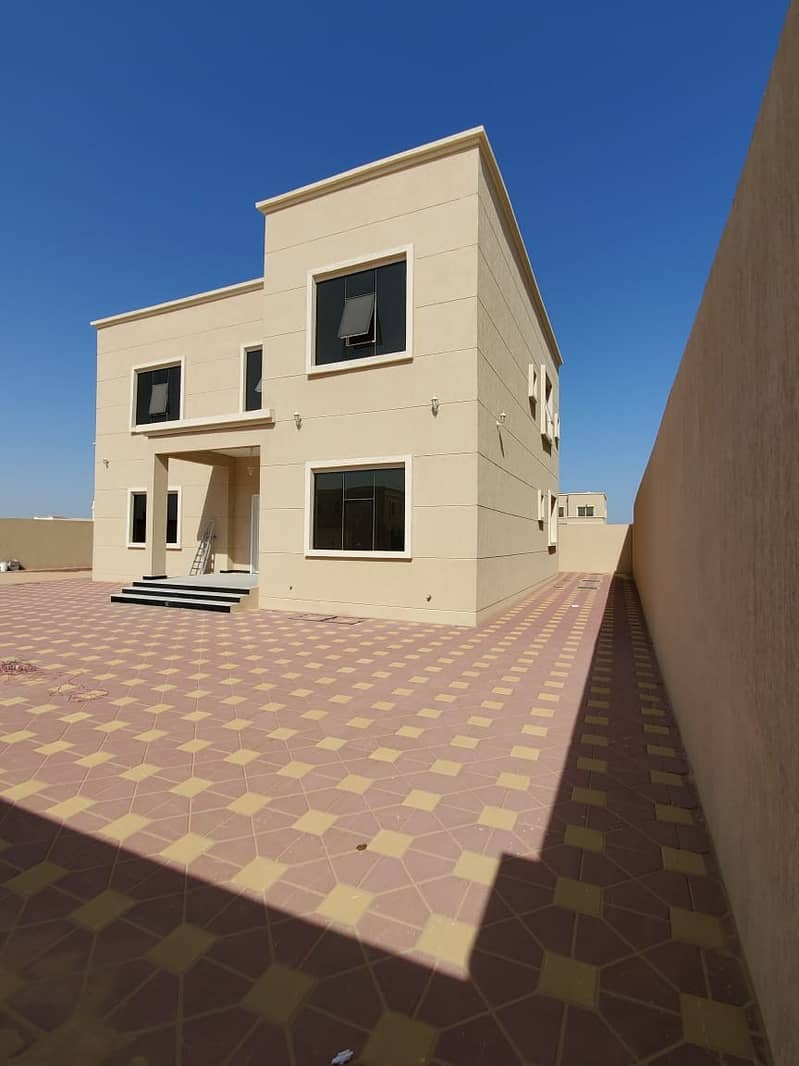for sale new  villa in al azra sharja  first inhabitant  A great location close to all services