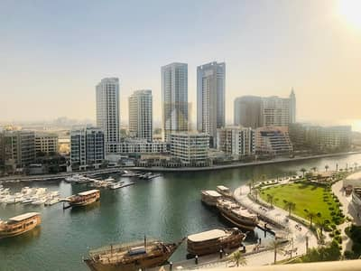 1 Bedroom Apartment for Rent in Dubai Marina, Dubai - Full Marina and Partial Sea view 1BR with Balcony