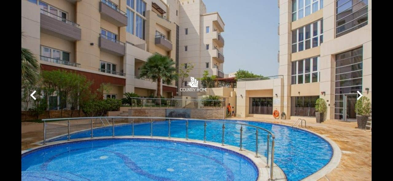 2 1 BED Furnished | flexible Chqs|Pool View