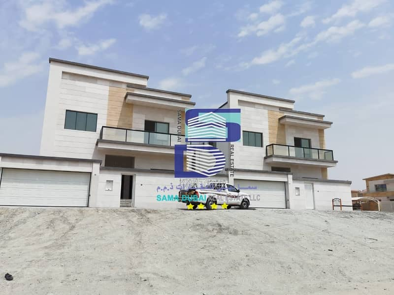Villa for sale, super duplex finishing at an attractive price with the possibility of bank financing