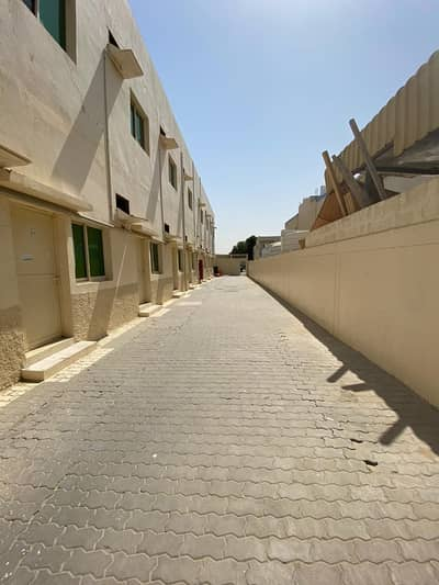 Labour Camp for Rent in Al Jurf, Ajman - Cheapest price Newly  Renovated  Labor Rooms 650/- per Month | attached bath  for rent in Ajman Industrial Area